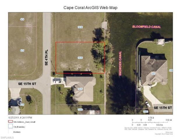 1433 SE 4th Pl, Cape Coral, FL 33990 (MLS #219044499) :: Kris Asquith's Diamond Coastal Group