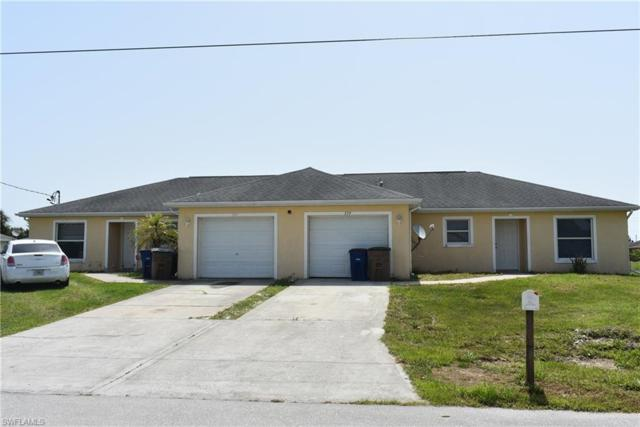 737/739 Harold Ave S, Lehigh Acres, FL 33973 (MLS #219044550) :: RE/MAX Realty Group