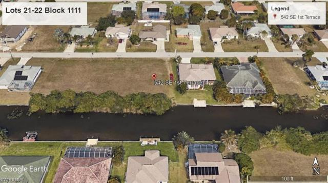 542 SE 1st Ter, Cape Coral, FL 33990 (MLS #219048376) :: Clausen Properties, Inc.