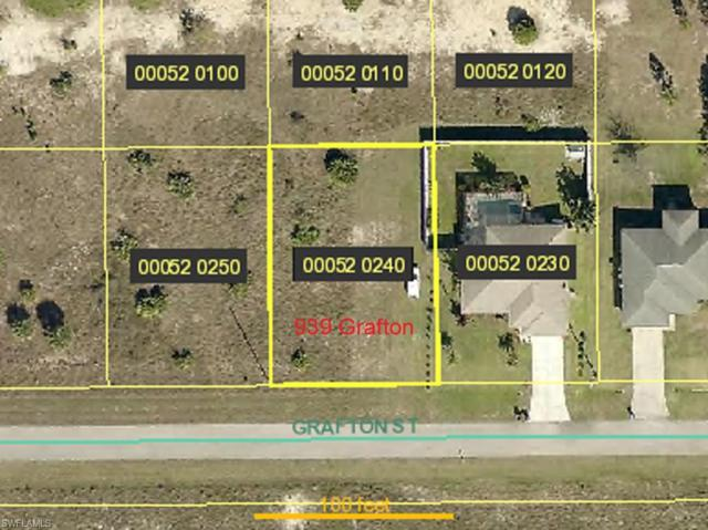 939 Grafton St, Lehigh Acres, FL 33974 (MLS #219049830) :: RE/MAX Realty Team