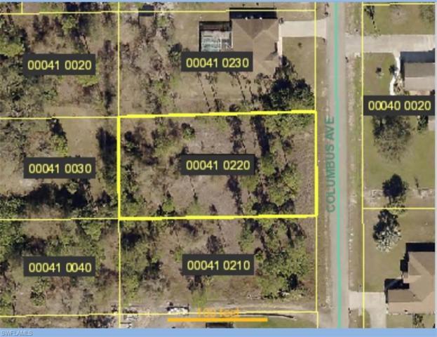 319 Columbus Ave, Lehigh Acres, FL 33936 (MLS #219049886) :: Palm Paradise Real Estate