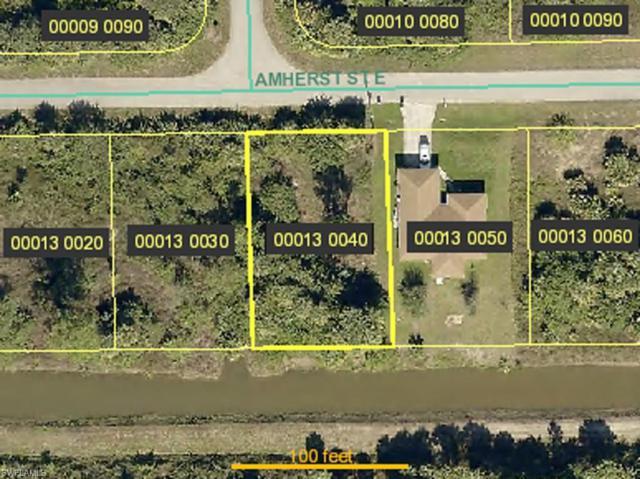 1136 Amherst St E, Lehigh Acres, FL 33974 (MLS #219049997) :: Palm Paradise Real Estate