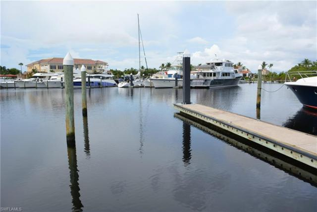 50 Ft. Boat Slip At Gulf Harbour D-22, Fort Myers, FL 33908 (MLS #219052196) :: RE/MAX Realty Group