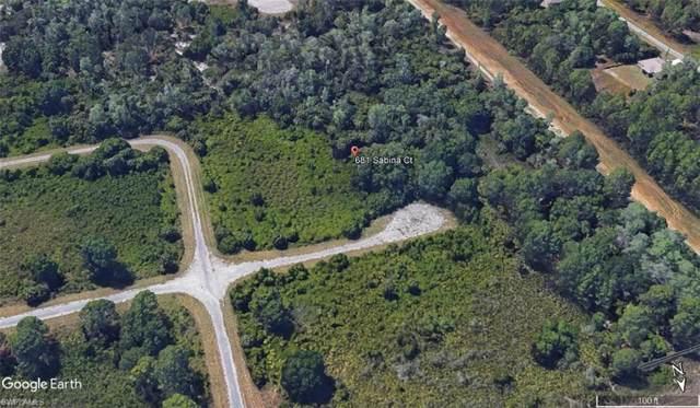 681 Sabina Ct, Lehigh Acres, FL 33972 (MLS #219061324) :: Clausen Properties, Inc.