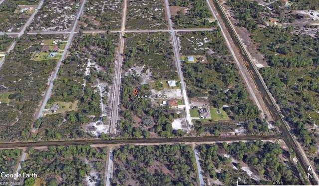 406 Abbott Ave, Lehigh Acres, FL 33972 (MLS #219061359) :: The Naples Beach And Homes Team/MVP Realty