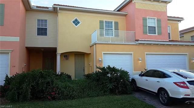 9811 Bodego Way #105, Fort Myers, FL 33908 (MLS #219062266) :: RE/MAX Realty Team