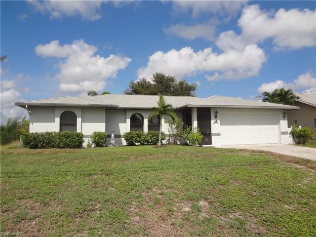 103 SW 21st St, Cape Coral, FL 33991 (MLS #219069509) :: Palm Paradise Real Estate