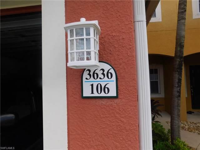 3636 Pine Oak Cir #106, Fort Myers, FL 33916 (#219073084) :: Southwest Florida R.E. Group Inc