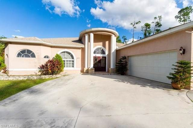 822 Wellington Ave, Lehigh Acres, FL 33972 (MLS #219074001) :: Kris Asquith's Diamond Coastal Group