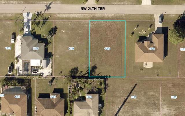1200 NW 24th Ter, Cape Coral, FL 33993 (MLS #219074505) :: RE/MAX Realty Team