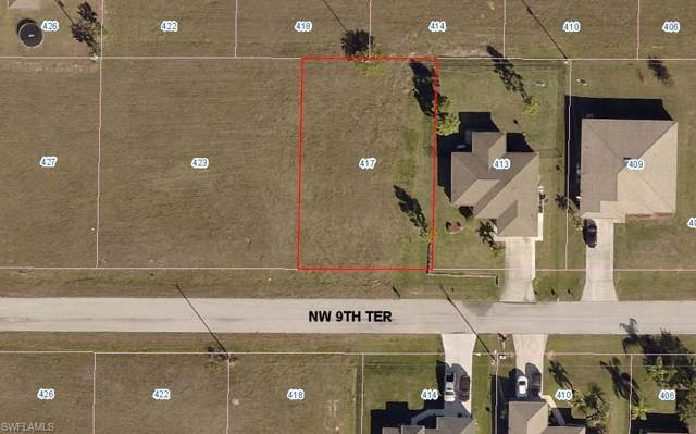 417 NW 9th Ter, Cape Coral, FL 33993 (MLS #219074532) :: RE/MAX Realty Team