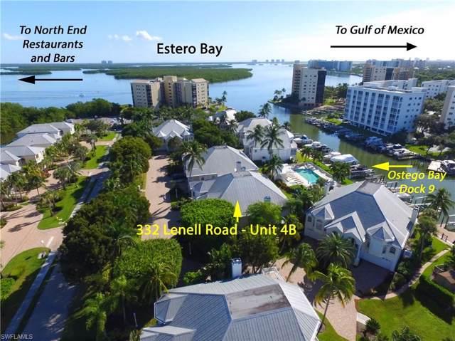 332 Lenell Road Dock #9 #9, Fort Myers Beach, FL 33931 (MLS #219074734) :: Kris Asquith's Diamond Coastal Group
