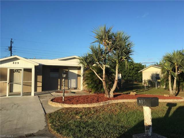 809 Perry Ave, Lehigh Acres, FL 33936 (MLS #219074971) :: RE/MAX Radiance