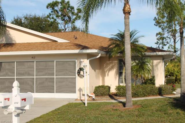412 Bethany Village Cir #1, Lehigh Acres, FL 33936 (#219079012) :: The Dellatorè Real Estate Group