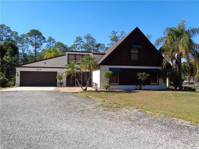 819 James Ave, Lehigh Acres, FL 33936 (MLS #219080807) :: Palm Paradise Real Estate