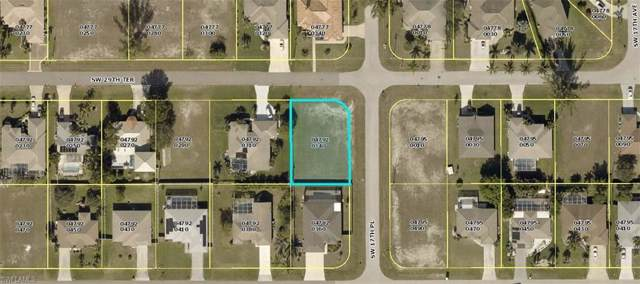 1722 SW 29th Ter, Cape Coral, FL 33914 (MLS #219081178) :: RE/MAX Realty Team