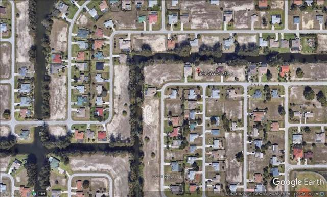 329 SW 21st Ln, Cape Coral, FL 33991 (MLS #220005524) :: The Keller Group