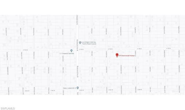 619 Greenwood Ave, Lehigh Acres, FL 33972 (MLS #220005595) :: The Keller Group