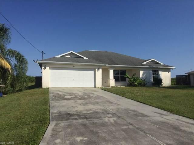 145 Peerless St, Lehigh Acres, FL 33974 (MLS #220005618) :: The Keller Group