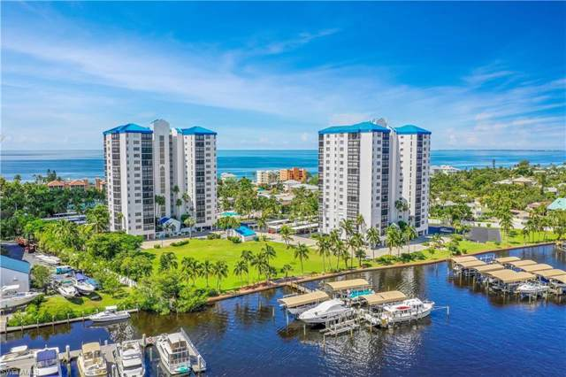 4745 Estero Boulevard SW #802, Fort Myers Beach, FL 33931 (#220006569) :: The Dellatorè Real Estate Group