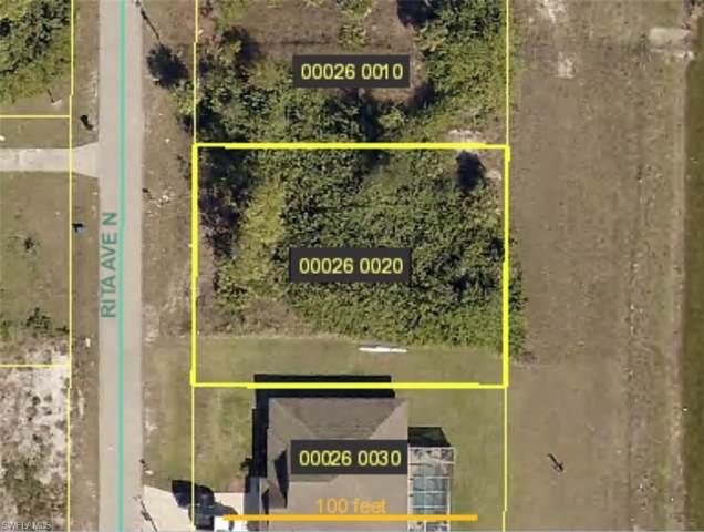 918 Rita Ave N, Lehigh Acres, FL 33971 (MLS #220007156) :: Clausen Properties, Inc.
