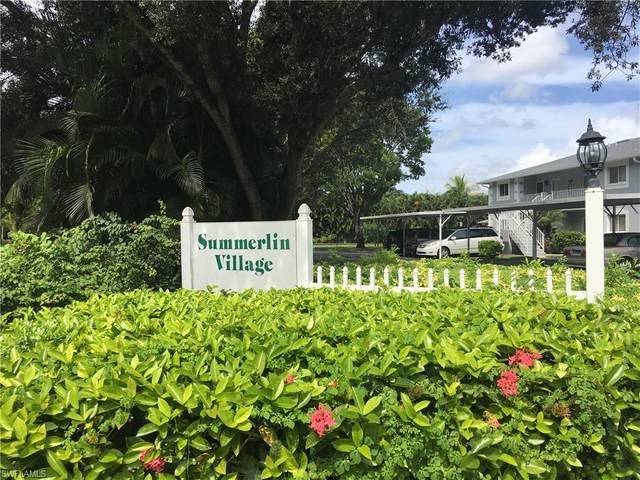 8140 Summerlin Village Cir #304, Fort Myers, FL 33919 (MLS #220009685) :: Kris Asquith's Diamond Coastal Group