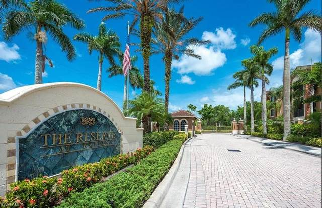 1200 Reserve Way #307, Naples, FL 34105 (MLS #220010770) :: #1 Real Estate Services