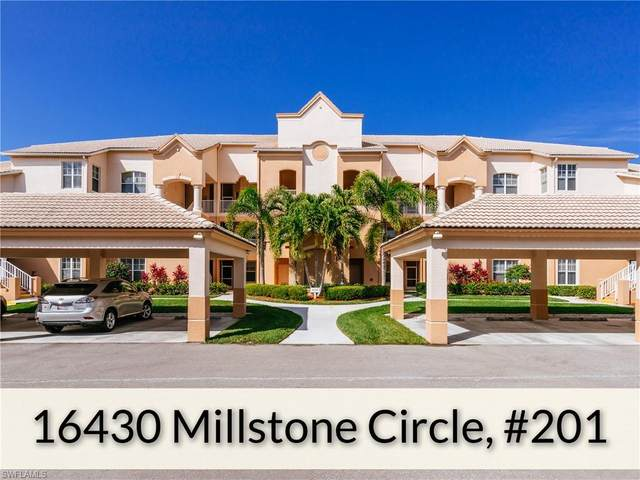 16430 Millstone Cir #201, Fort Myers, FL 33908 (MLS #220011586) :: RE/MAX Realty Group