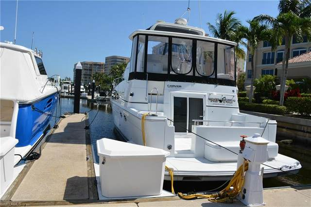 48 Ft Boat Slip At Gulf Harbour G-1, Fort Myers, FL 33908 (MLS #220014529) :: Domain Realty