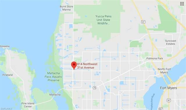 814 NW 31st Ave, Cape Coral, FL 33993 (#220015092) :: The Dellatorè Real Estate Group