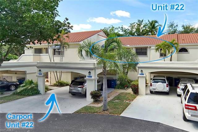 9660 Halyards Ct #22, Fort Myers, FL 33919 (#220016054) :: The Dellatorè Real Estate Group
