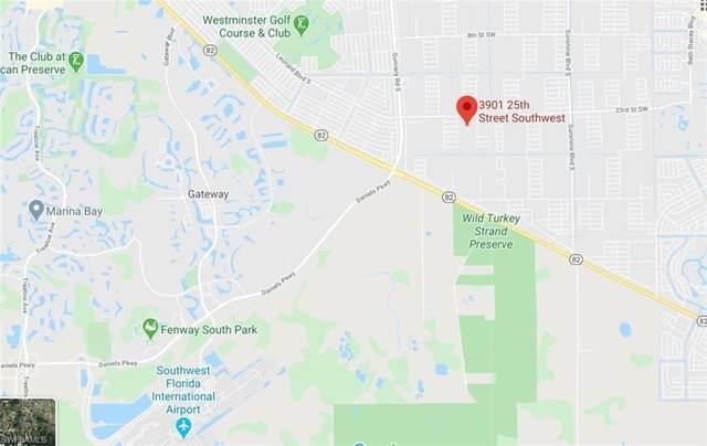 3901 25th St SW, Lehigh Acres, FL 33976 (#220016091) :: The Dellatorè Real Estate Group