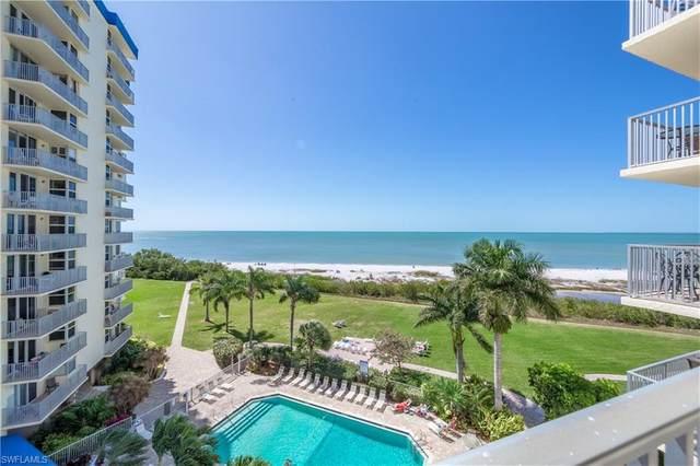 7300 Estero Blvd #503, Fort Myers Beach, FL 33931 (#220016167) :: The Dellatorè Real Estate Group