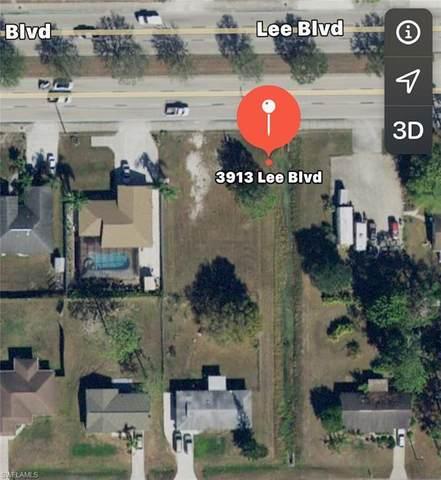3913 Lee Blvd, Lehigh Acres, FL 33971 (#220016484) :: The Dellatorè Real Estate Group