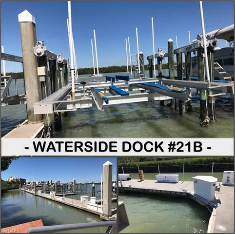 4187- Dock #21B-Bay Beach Ln #21B+LIFT, Fort Myers Beach, FL 33931 (#220020192) :: Southwest Florida R.E. Group Inc