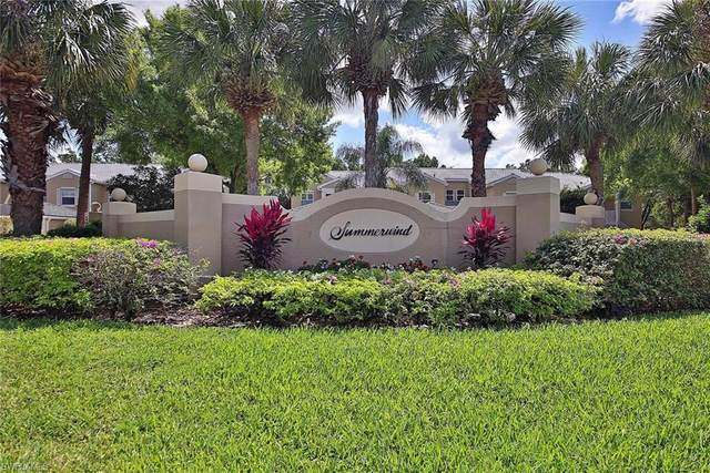 12100 Summergate Cir #201, Fort Myers, FL 33913 (MLS #220022308) :: Team Swanbeck