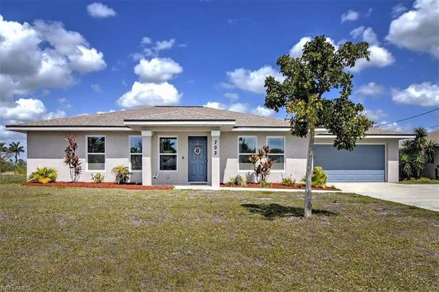 703 Gleason Pky, Cape Coral, FL 33914 (MLS #220022601) :: #1 Real Estate Services