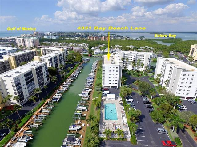 4351 Bay Beach Lane #432, Fort Myers Beach, FL 33931 (MLS #220022878) :: Florida Homestar Team