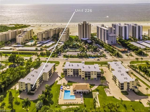 6665 Estero Boulevard #226, Fort Myers Beach, FL 33931 (MLS #220026829) :: #1 Real Estate Services