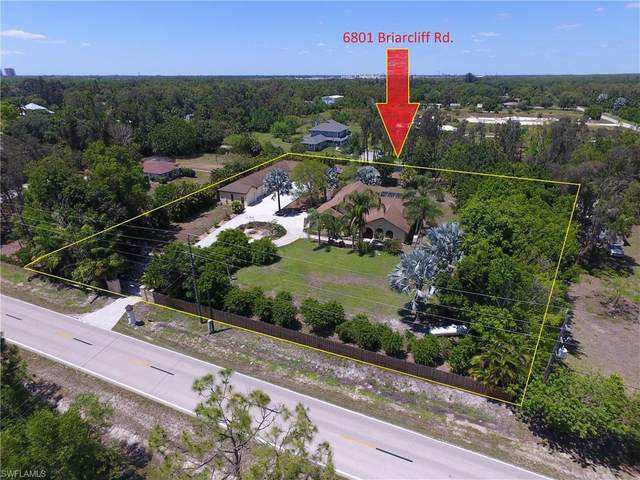 6801 Briarcliff Road, Fort Myers, FL 33912 (#220028769) :: The Dellatorè Real Estate Group