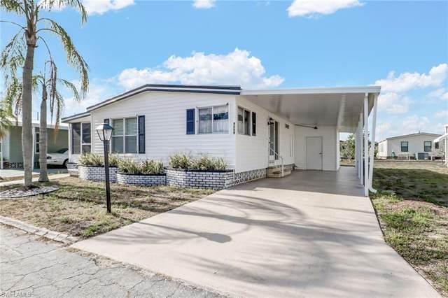 9009 Flamingo Circle, North Fort Myers, FL 33903 (#220030995) :: The Dellatorè Real Estate Group