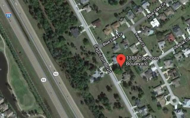 1388 Capricorn Boulevard, Punta Gorda, FL 33983 (MLS #220032939) :: RE/MAX Realty Group