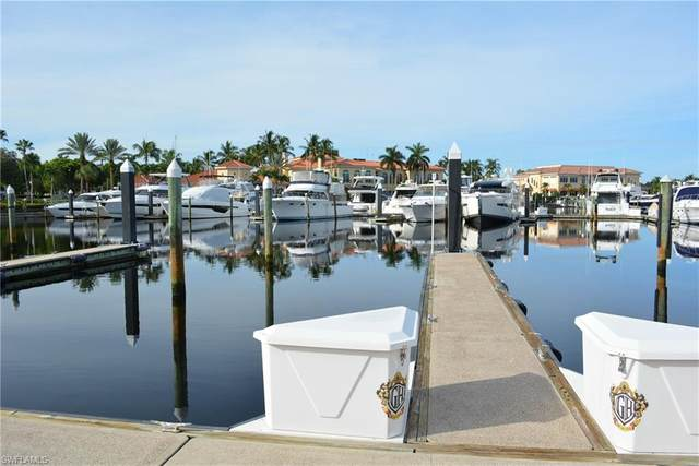 50' Boat Slip At Gulf Harbour E-26, Fort Myers, FL 33908 (MLS #220039310) :: Domain Realty