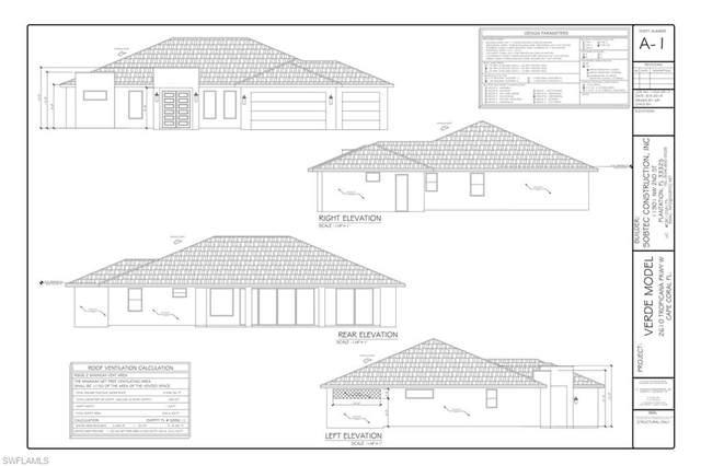 2610 Tropicana Parkway W, Cape Coral, FL 33993 (MLS #220042804) :: RE/MAX Realty Team