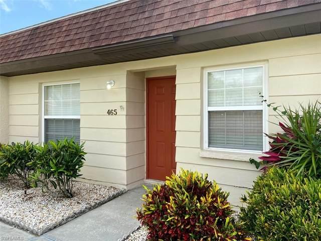 6300 S Pointe Boulevard #465, Fort Myers, FL 33919 (MLS #220043787) :: NextHome Advisors