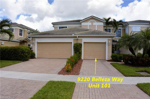9220 Belleza Way #101, Fort Myers, FL 33908 (#220054278) :: The Dellatorè Real Estate Group