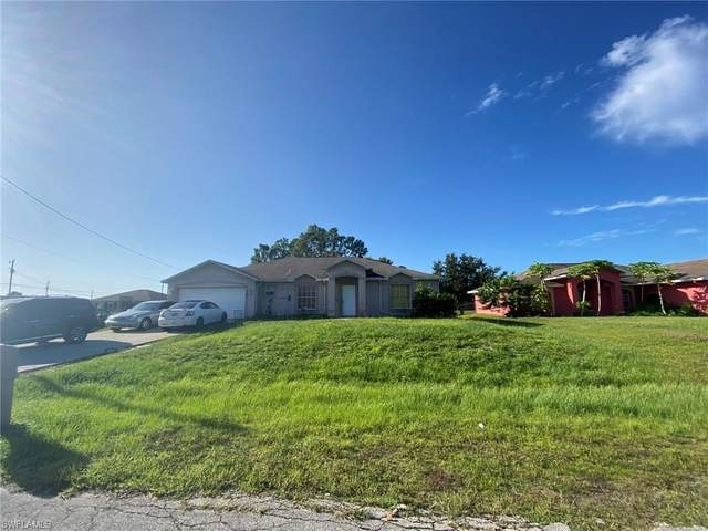 4205 11th Street W, Lehigh Acres, FL 33971 (#220060281) :: The Dellatorè Real Estate Group