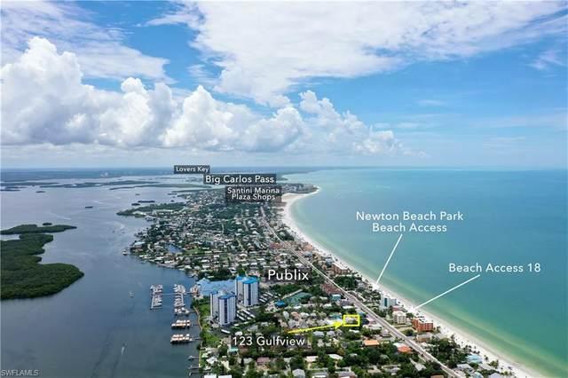 123 Gulfview Avenue, Fort Myers Beach, FL 33931 (#220061223) :: Jason Schiering, PA