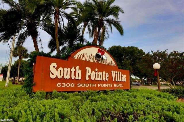 6300 S Pointe Boulevard #417, Fort Myers, FL 33919 (#220062515) :: The Dellatorè Real Estate Group
