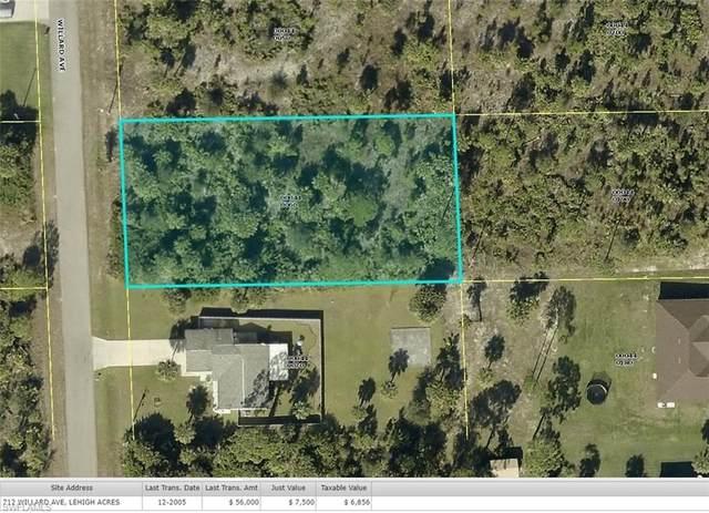 712 Willard Ave Avenue, Lehigh Acres, FL 33972 (MLS #220069223) :: Premier Home Experts